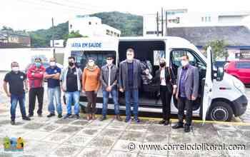 Guaratuba recebe nova van para transporte de pacientes - Correio do Litoral