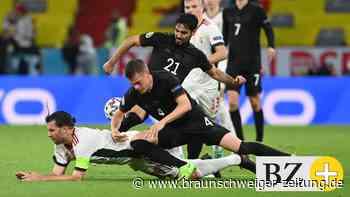 DFB-Team schwach - viermal Note 5 bei 2:2 gegen Ungarn