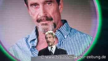 Software-Entwickler McAfee tot in Gefängnis aufgefunden