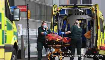Reino Unido notifica un aumento de 40 % de contagios en las últimas 24 horas - La Izquierda Diario