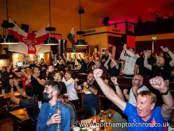 Euro 2020 picture special: Northampton football fans celebrate England victory over Czech Republic at popular pubs in town - Northampton Chronicle and Echo
