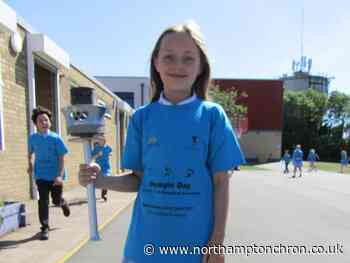 Northampton schoolkids help to walk or run distance from UK to Tokyo to celebrate Olympic Games - Northampton Chronicle and Echo