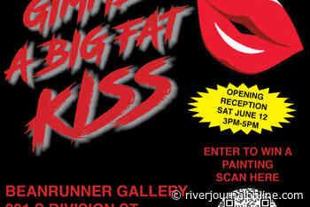 Gimme A Big Fat Kiss – New Works By David Craig Ellis - River Journal Staff