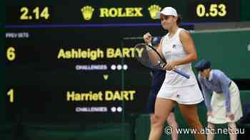 Barty top seed again at Wimbledon, Tomic meekly bows out of qualifying