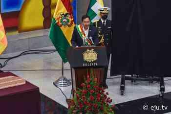 Presidente Arce y vicepresidente Choquehuanca saludan a la ciudad de El Alto por su 36 aniversario - eju.tv