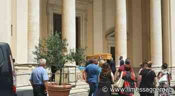 A Valmontone il funerale di Salvatore Ranieri, il 74enne ucciso ad Ardea insieme ai due fratellini - Il Messaggero