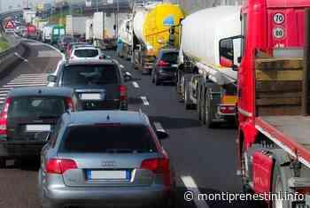 Grave incidente vicino Valmontone: traffico in tilt - Monti Prenestini