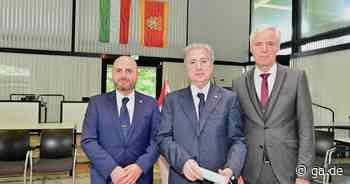 Früherer Staatspräsident des Libanon, Amin Gemayel, besucht Alfter - General-Anzeiger Bonn