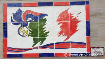 """Volpiano, il murale del """"Jolly"""" nella sede dell'Associazione nazionale carabinieri - ChivassOggi.it"""