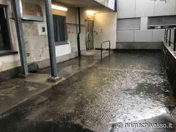 Maltempo, allagato l'ingresso dell'ospedale di Chivasso LE FOTO - Prima Chivasso
