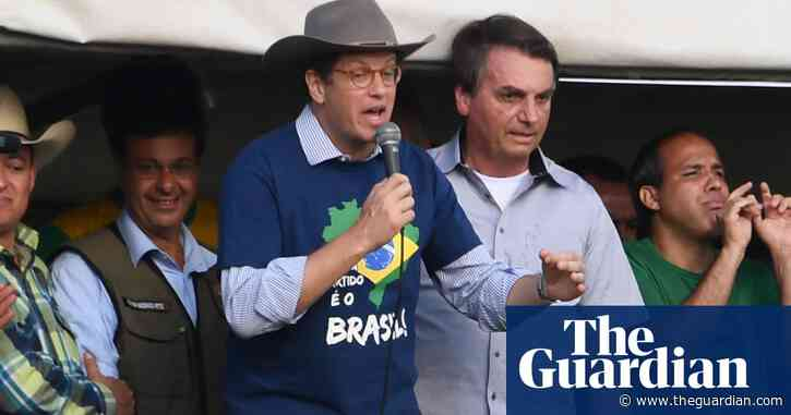 Brazil environment minister quits amid inquiry into illegal Amazon logging