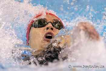 World champion Kylie Masse victorious on closing day of Olympic swim trials
