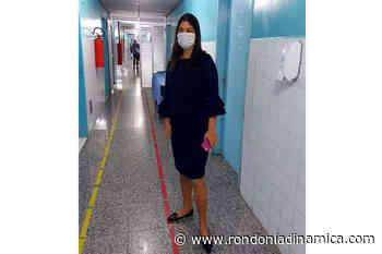 Equipe técnica da Comissão de Saúde da deputada Cassia Muleta vistoria Hospital João Paulo II - Rondônia Dinâmica