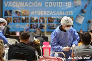 Coronavirus: convocaron a más de 7.000 personas para vacunarse este jueves - Agencia de Noticias San Luis