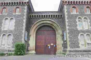 Inmates at HMP Lewes locked in cells for 23 hours report says