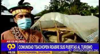 Comunidad Tsachopen en Oxapampa reabre sus puertas al turismo - Diario Correo