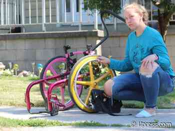 Community helps London girl after $7K wheelchair stolen, destroyed - London Free Press (Blogs)