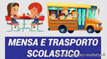 Trasporto e mensa Scolastica a Molfetta: entro il 20 agosto le domande per l'anno scolastico 2021-2022 - Quindici - Molfetta