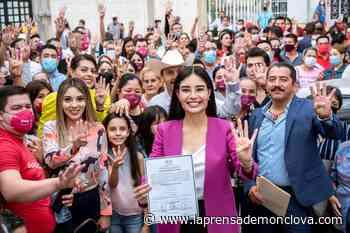 CON VOTACIÓN HISTÓRICA, GERALDINE PONCE ES LA PRIMERA PRESIDENTA MUNICIPAL DE TEPIC - La Prensa De Monclova