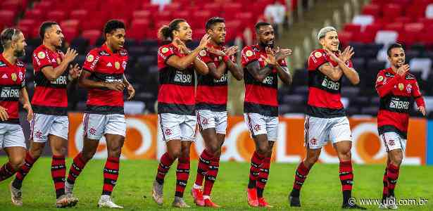 Bruno Henrique resolve e Flamengo vence Fortaleza no adeus de Gerson - UOL