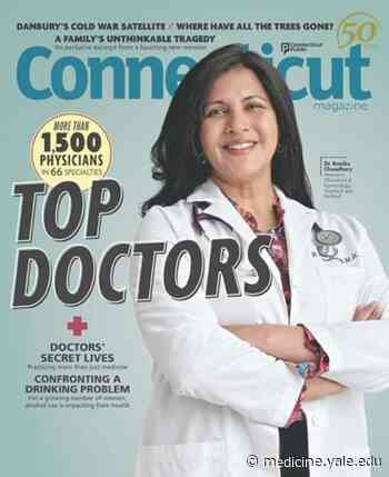 Smilow Cancer Hospital Care Center at Waterford physician makes 'Top Docs' list in Connecticut - Yale School of Medicine