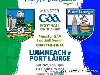 GAA Live Scores, Team News & Betting – Munster Football - Limerick v Waterford - SportsNewsIreland SportsNewsIreland Live Scores - SportsNewsIRELAND
