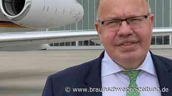 Der Erste: Altmaier in Washington - Voraustrupp für Merkel
