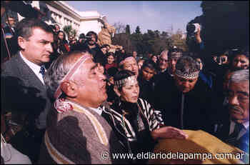 A 20 años del regreso de Panguitruz Gner (Mariano Rosas) a su territorio - El Diario de La Pampa