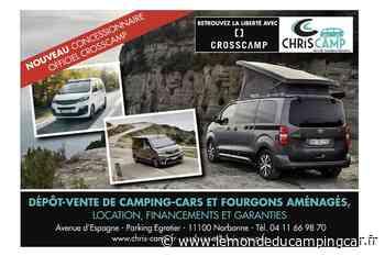 Crosscamp : un nouveau concessionnaire à Narbonne, Chris Camp - Le Monde du Camping-Car