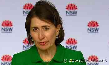 Australia Covid: Gladys Berejiklian is asked a question about the patient zero limo driver