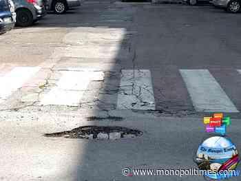 Monopoli, 1 milione e 32 mila euro dalla Regione per la manutenzione e messa in sicurezza delle strade comunali - The Monopoli Times