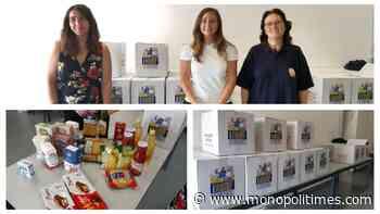 Monopoli, la solidarietà non va in vacanza: donati generi alimentari di prima necessità al Banco Alimentare - The Monopoli Times