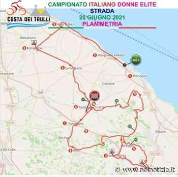 Monopoli-Castellana Grotte, oggi la campionessa italiana di ciclismo - Noi Notizie
