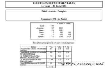 LE PRADET : Elections Départementales, les résultats - La lettre économique et politique de PACA - Presse Agence