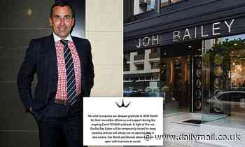 Why Joh Bailey's flagship salon is the BIGGEST concern in Sydney's Covid outbreak