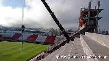 Unión mostró nuevos avances en la terminación de la bandeja - UNO Santa Fe