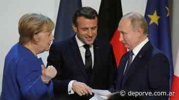 Alemania y Francia buscan un encuentro entre la Unión Europea y Rusia - Deporve