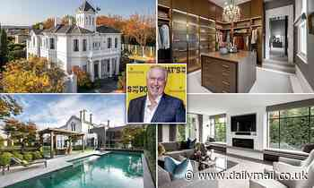 Gold Logie winner Steve Vizard's former home in Toorak sells for more than $20million