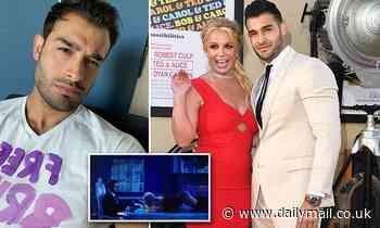 Britney's boyfriend wears 'Free Britney' tee as she tells conservatorship hearing she wants to marry