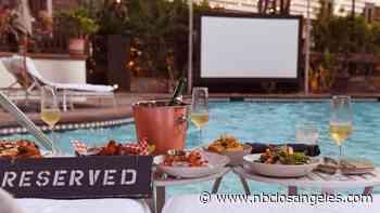 Dive Into Movie Fun at a Posh Poolside Cinema Series - NBC Southern California