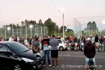 Parque de Colombo vira palco de rachas, manobras em motos e aglomeração - Tribuna do Paraná
