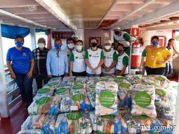 Agro Fraterno chega a Manacapuru e entrega cestas de alimentos em comunidades ribeirinhas - NX1