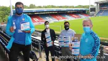 Rovers team up with Islamic Relief to donate 2,000 hand sanitisers to local groups