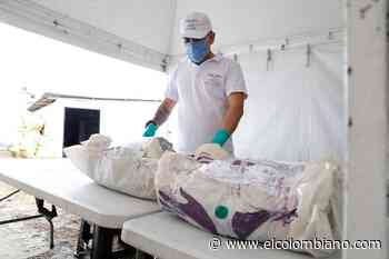 43 cuerpos han sido recuperados en cementerio de Puerto Berrío - El Colombiano