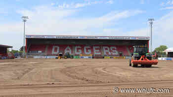 Pitch improvements begin at Dagenham & Redbridge - West Ham United F.C.