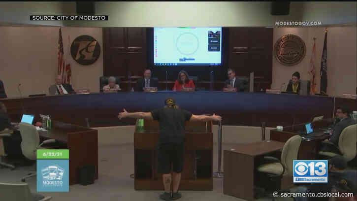 'Why Don't You Shut Up': Tense Moments At Modesto City Hall Over Police Reform