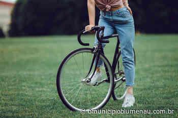 Em Pomerode, mulher encontra bicicleta furtada em Blumenau três anos após o crime - O Município Blumenau