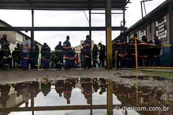 VÍDEO: trabalhadores do setor ferroviário são vacinados em Santa Maria - Diário de Santa Maria