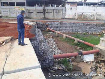 Prefeito Vérdi visita construção de rotatória no bairro Santa Maria e afirma que obra está próxima de ser entregue - Varginha Online