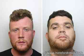 Police hunt for two men in drug trafficking investigation